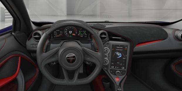 720S Steering Wheel